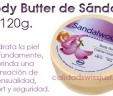 Body Butter de Sándalo 120g