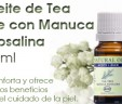 Aceite de Tea Tree con Manuca y Rosalina 10ml