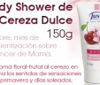 Body Shower de Cereza Dulce 150g