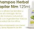 Shampoo Herbal Capilar Nim 125ml